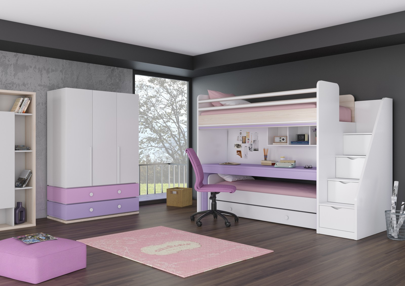 design nowej generacji ka pi trowe new joy meble z francji belgii i niemiec meble aldo. Black Bedroom Furniture Sets. Home Design Ideas