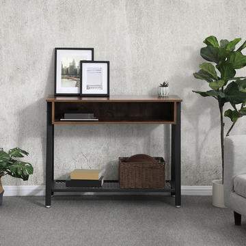 Stolik w designie industrialnym Sofa table